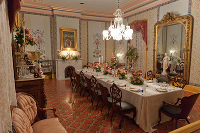 Belmont Mansion Formal Dining Room