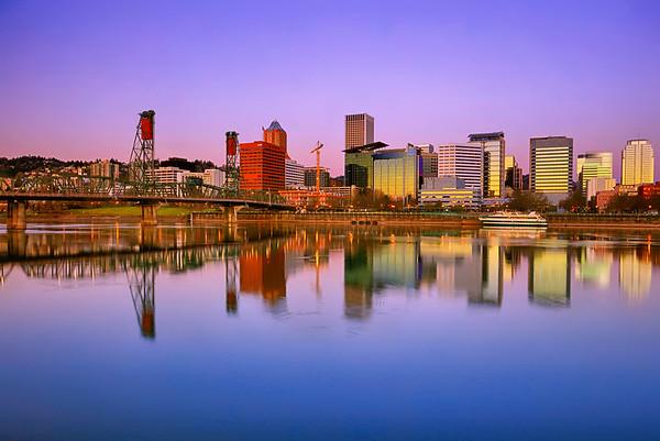 portland cityscapes
