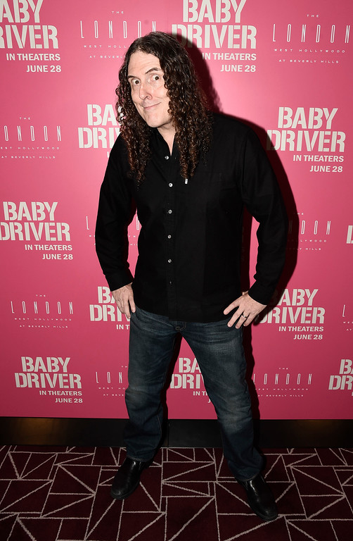 . Singer Weird Al Yankovic at TriStar Pictures \'Baby Driver\' screening hosted by J.J. Abrams at The London Hotel West Hollywood on Wednesday, May 31, 2017, in West Hollywood, Calif. Weird Al will be at Playhouse Square on March 25. For more information, visit www.playhousesquare.org/events/detail/weird-al-yankovic. (Photo by Dan Steinberg/Invision for Sony Pictures/AP Images)