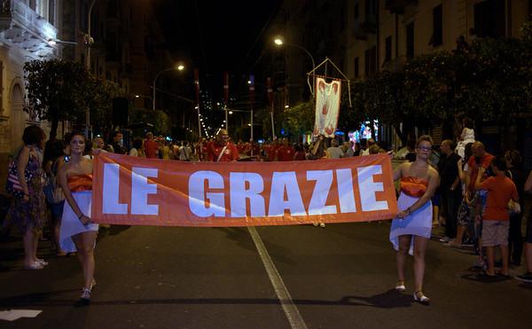 Foto sfilata borgate Palio del Golfo 2012 - Le Grazie La Spezia
