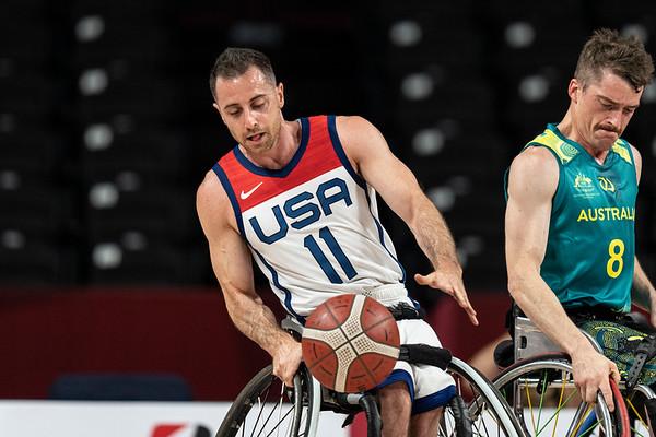 8-29-2021 Men's United States vs. Australia