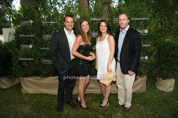 Justin Agnello, Emily Agnello, Jill Keogh, James Keogh photo by Rob Rich/SocietyAllure.com © 2014 robwayne1@aol.com 516-676-3939