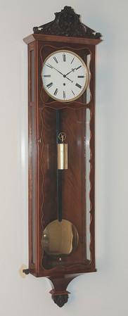 VR-529 - Month Duration Dachluhren with Serpentine Door Trim, by  Franz Mosslinger