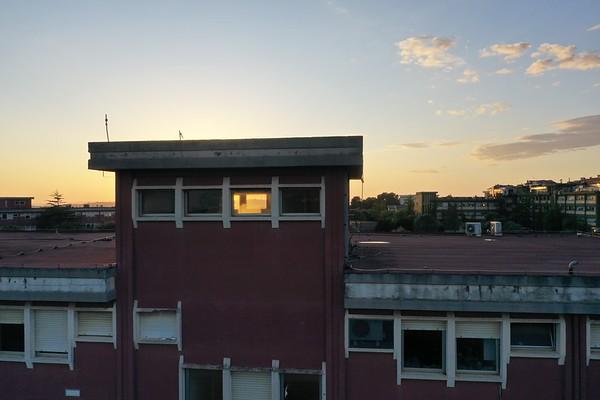 Drone - Dipartimento Veterinaria Tramonto - Sassari - 20.05.2020