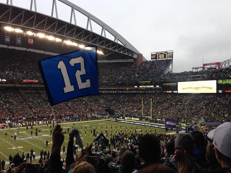 Seattle NFC Championship versus San Francisco
