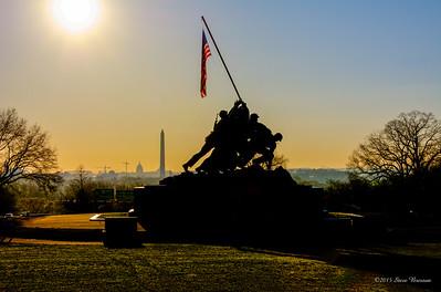 2014/04/10 Marine Corps War Memorial