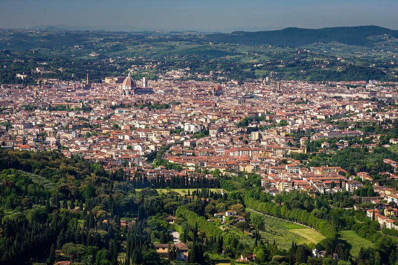 Florence at Sunrise