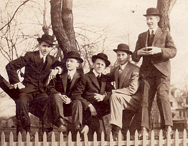 men on fence despeckled.jpg