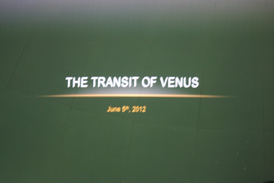 Transit of Venus Party at PV