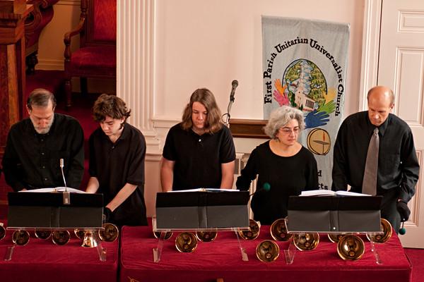 Service 18-Nov 2012 - Temple Emanuel & Bells