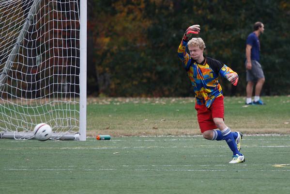 Boys' JV1 Soccer: October 15