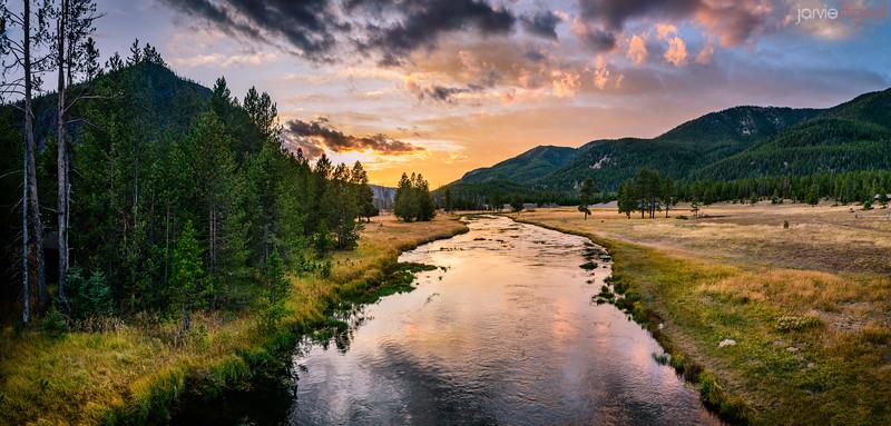 Yellowstone Fall Scenics