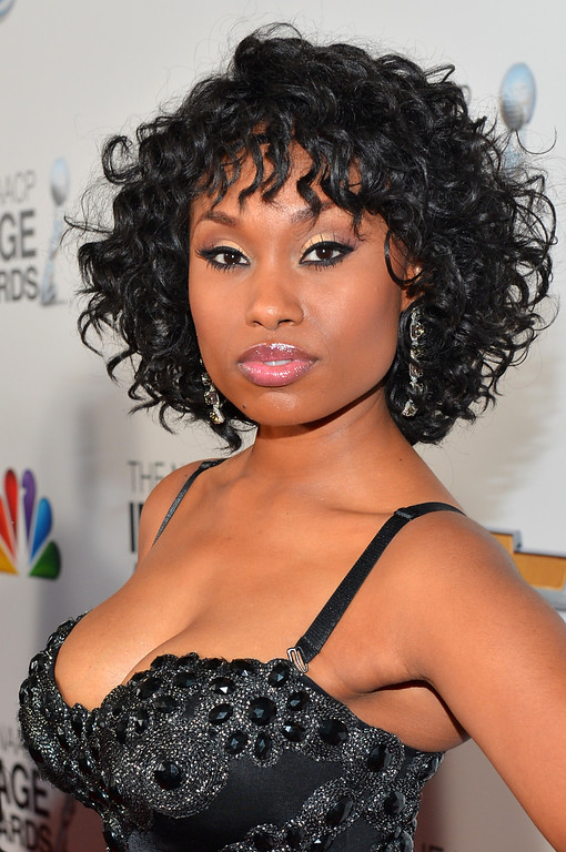 . LOS ANGELES, CA - FEBRUARY 01:  Actress Angell Conwell arrives at the 44th NAACP Image Awards held at The Shrine Auditorium on February 1, 2013 in Los Angeles, California.  (Photo by Alberto E. Rodriguez/Getty Images for NAACP Image Awards)