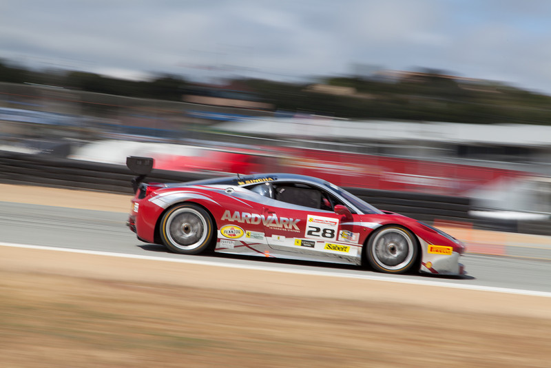 Jon Becker in the #28 Ferrari 458 EVO. © 2014 Victor Varela