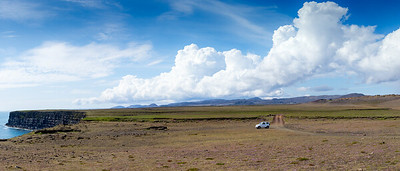Lonsome White Car, Iceland