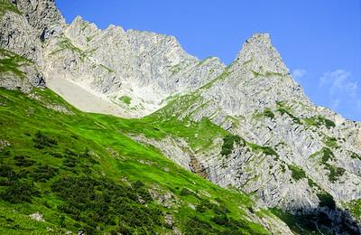 Mittagsspitze mountain tour