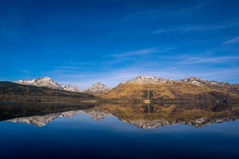 Loch Lomond & Sloy from Inversnaid