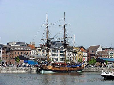 Endeavour in Antwerp