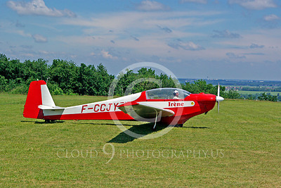 Scheibe SF-28A Tandem Falke Light Civil Aviation Airplane Pictures