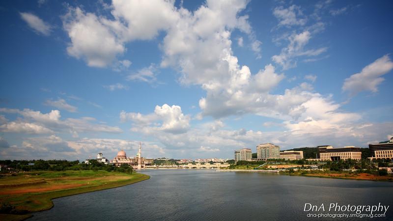 View from Seri Wawasan Bridge