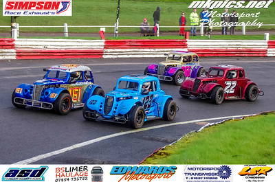 Oval Track Legends, Hednesford 15 March 2020