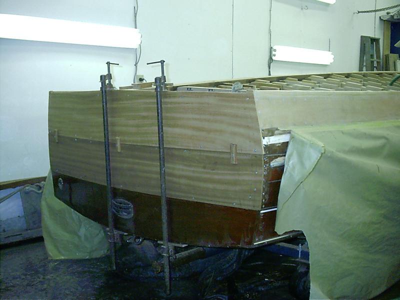 new transom planks