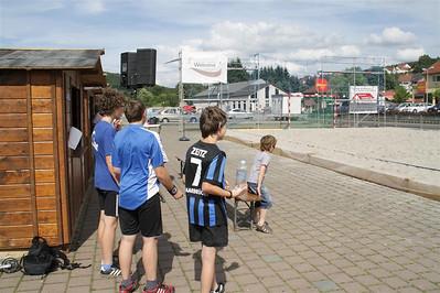 Beachfussball - Jugend