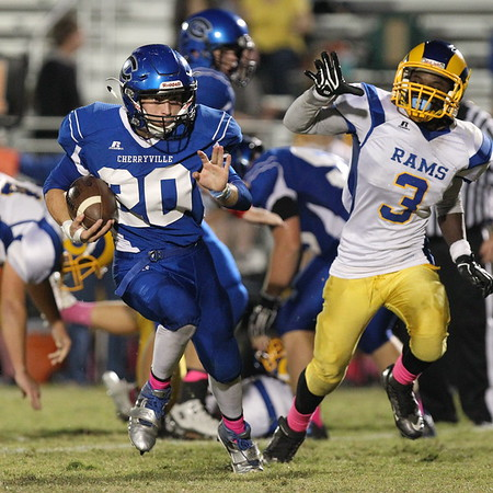 Highland at Cherryville (Homecoming) - 10/14/16