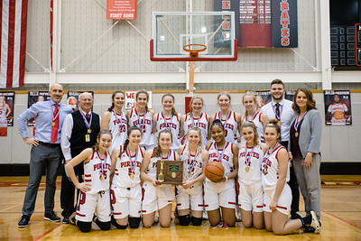 Perry Girls 3rd District Championship Win - 2021 vs  Salem