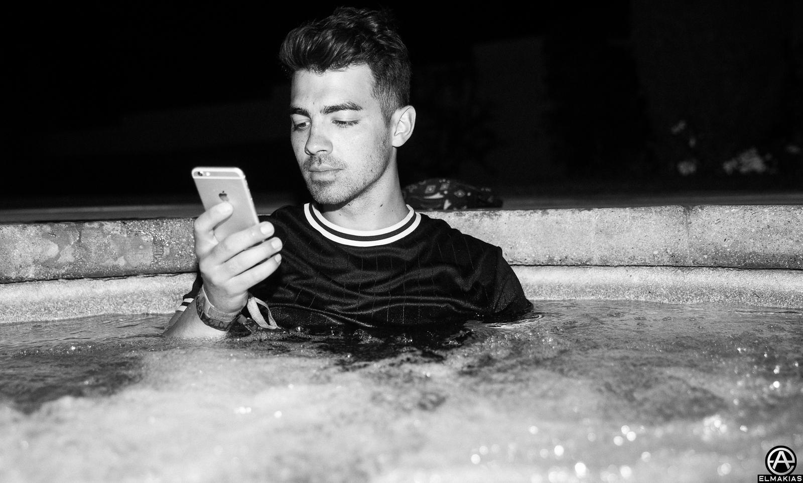 Joe Jonas post Coachella work ethic