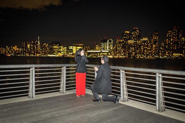 Alex Long Island City PepsiCo Surprise Proposal