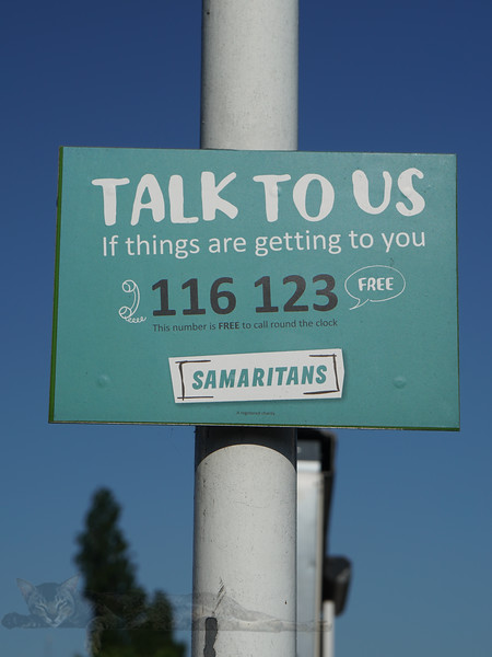 Samaritans Sign