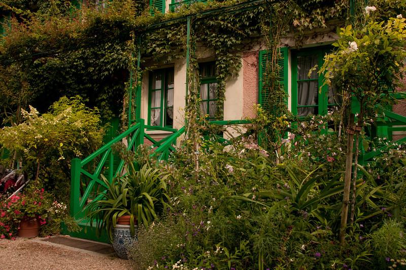 Monet's beautiful home, faithfully restored.