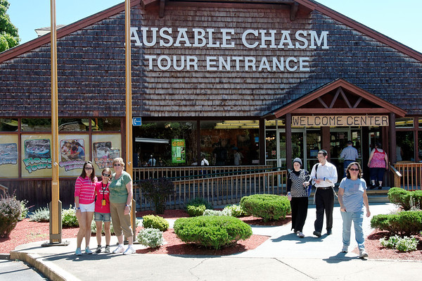 Ausable Chasm NY August 2012