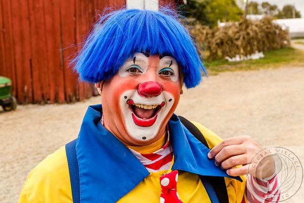 PJ D Clown at Bi-Water Farm 10 13 2016
