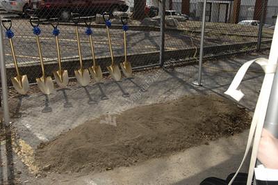 25218- New Dorm Groundbreaking for Honors Dorm in Sunnyside