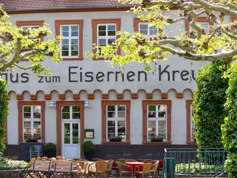 Gasthaus zum Eisernen Kreuz (Iron Cross), where Edda and Tim used to hang out, in Heidelberg