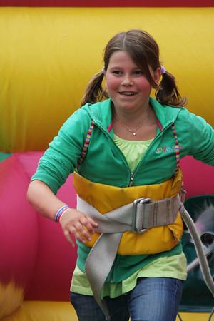 Luchtkussenfestival; 7 juni 2009 - Voorhout