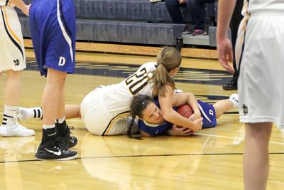 Girls Basketball, Danville vs Notre Dame 12/1/2015