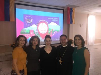 Houston Marks Yerevan's 2,800th Anniversary (Oct. 21, 2018)