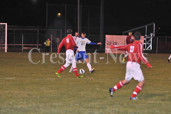 10-22-13 Sports D-III Dist.boys soccer Miller City vs Lima CC