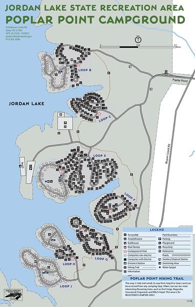 Jordan Lake State Recreation Area (Poplar Point Campground)