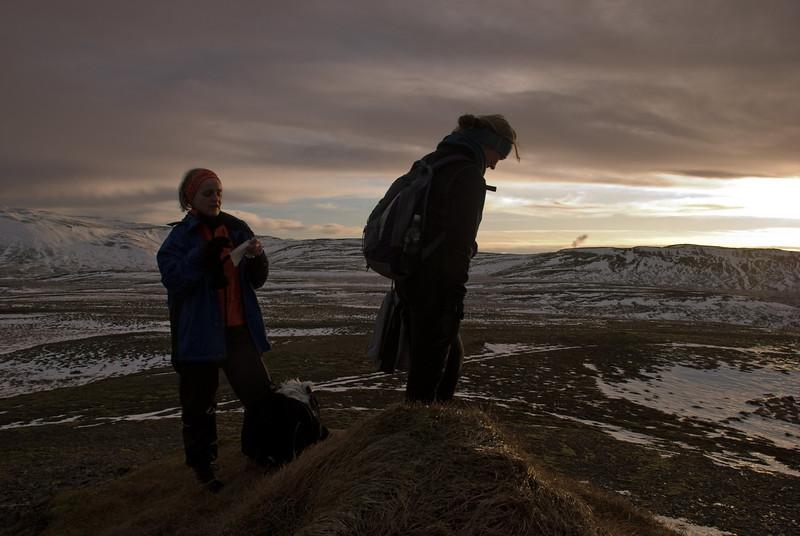 Aðalbjörg og Álfhildur á Einbúa