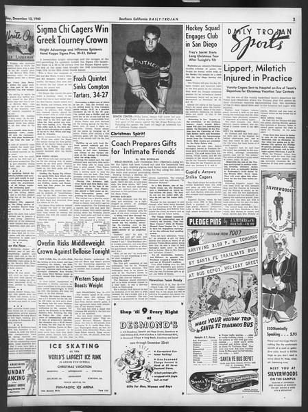 Daily Trojan, Vol. 32, No. 62, December 13, 1940
