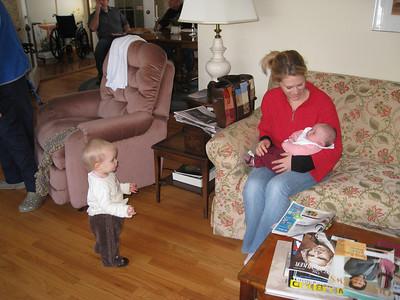Leah, Sarah, Eli Visit: 1/31-2/1