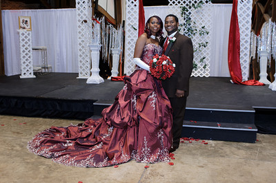 Alecia & Rickey Jr. Wedding - Formals