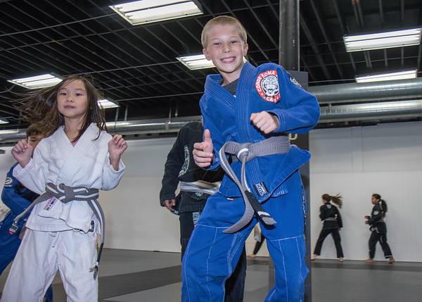 Connor's Jiu Jitsu Promotion Grey Belt 2nd Stripe