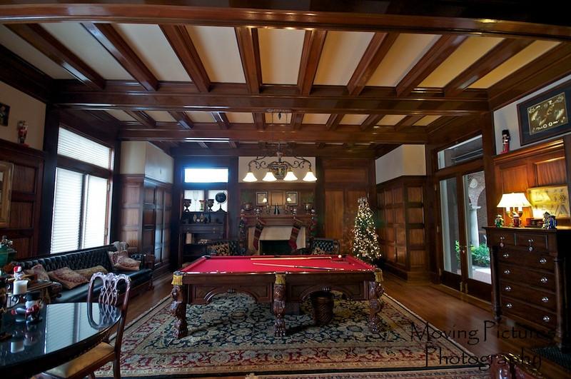 Laurel Court - billiard room