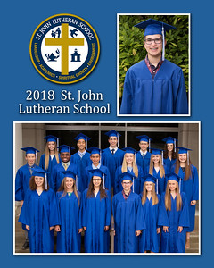 St John Graduation 2018 Memory Mates