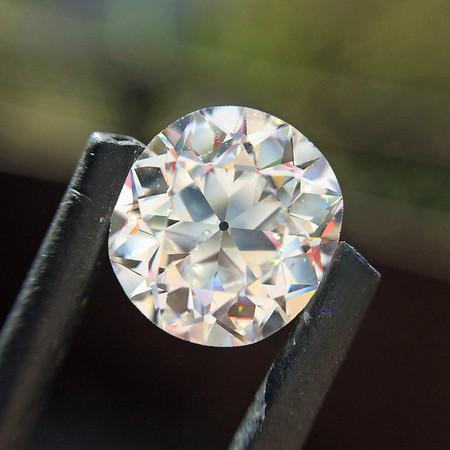 1.84ct Antique Cushion Cut Diamond, GIA F SI1
